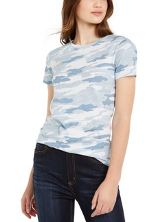 Lucky Brand Juniors' Camo Graphic T-Shirt