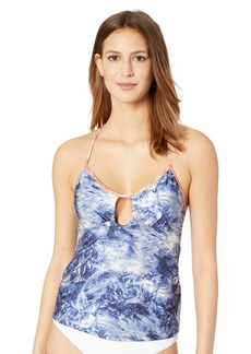 Lucky Brand Junior's Keyhole Front Tankini Swimsuit Top