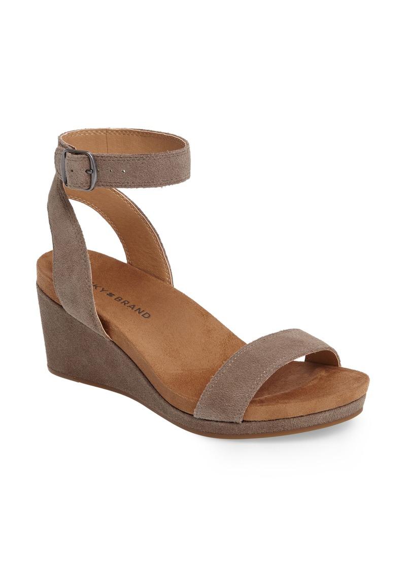 e8ecb1e25 Lucky Brand Lucky Brand Karston Wedge Sandal (Women) | Shoes