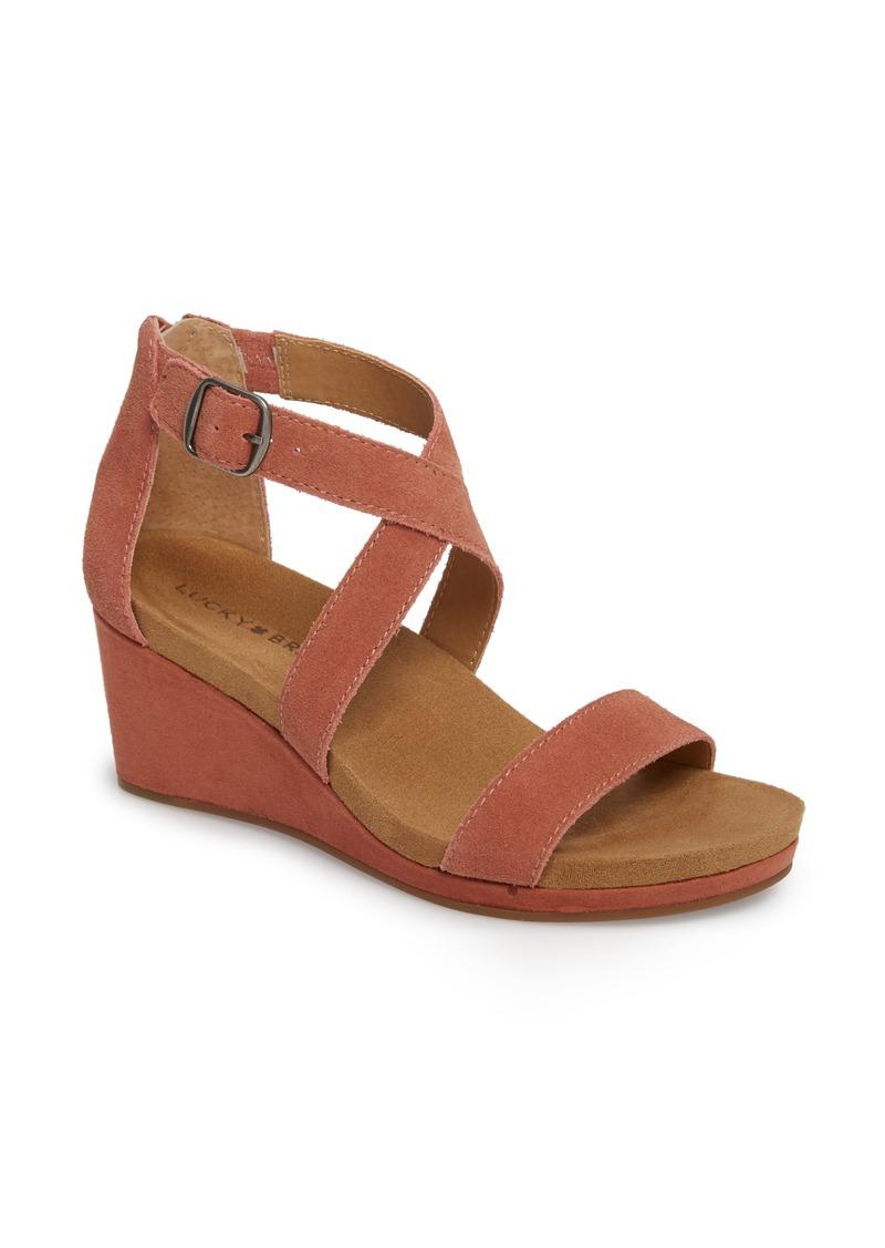 caa203053574 Lucky Brand Lucky Brand Kenadee Wedge Sandal (Women)