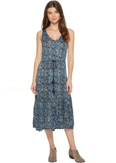 Lucky Brand Knit Jacquard Dress