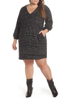 Lucky Brand Knit Shift Dress (Plus Size)