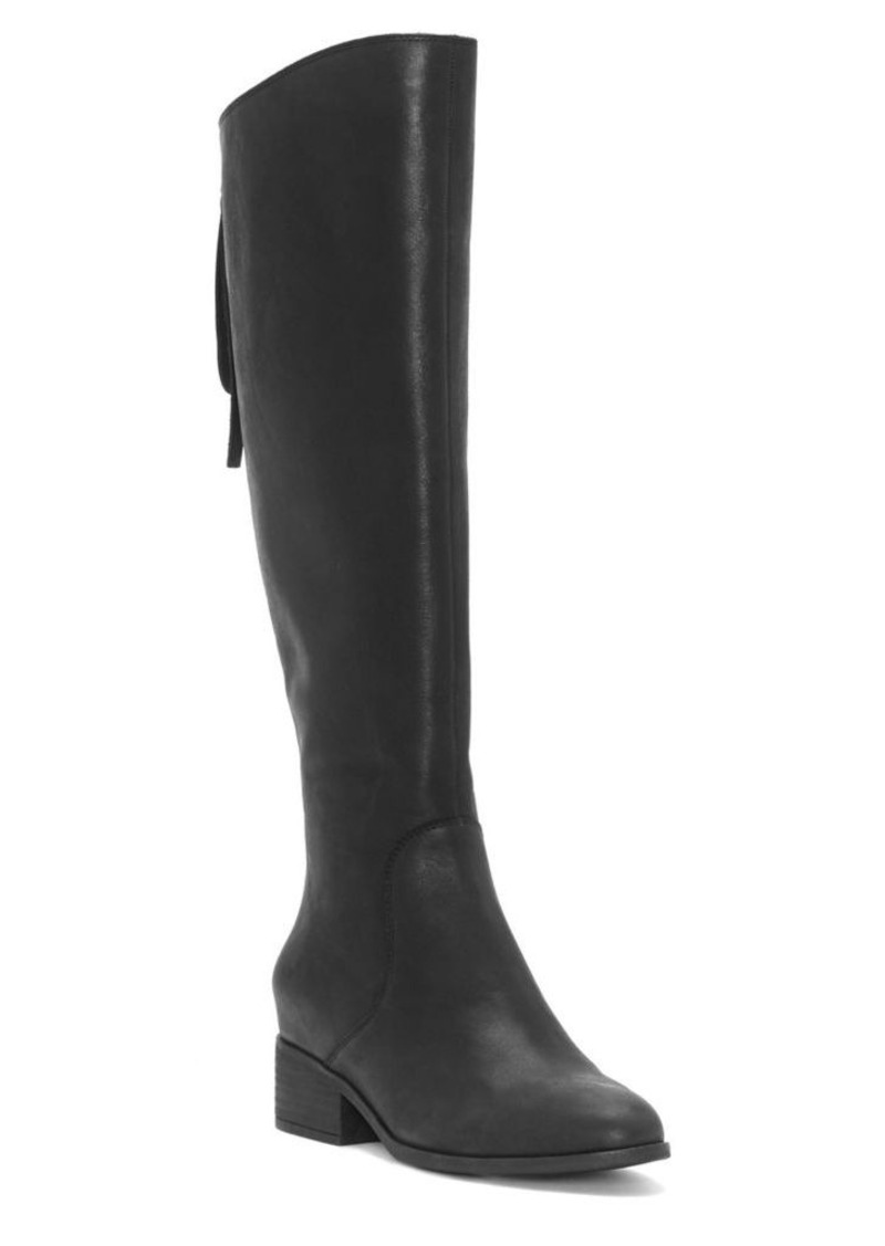 3ce7e70a6be Lucky Brand Lucky Brand Lanesha Leather Knee-High Boots Now  79.50