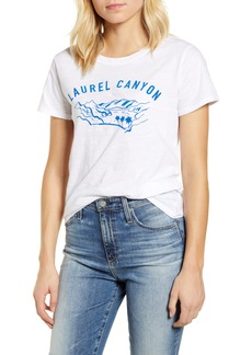 Lucky Brand Laurel Canyon Crew Graphic Tee