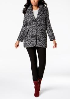 Lucky Brand Leopard-Print Coat
