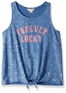 Lucky Brand Little Girls' Sleeveless Fashion Tank Top  6X