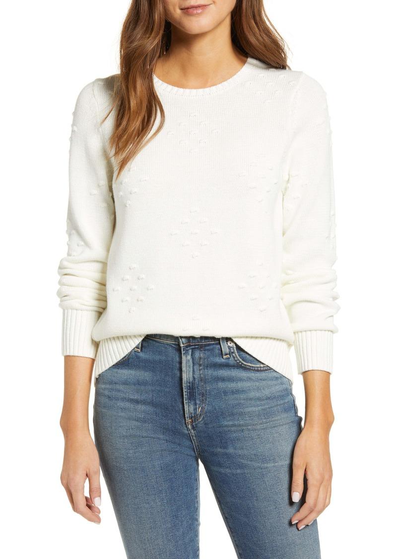 Lucky Brand Liza Bobble Sweater