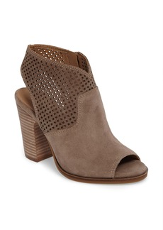 Lucky Brand Lizara Perforated Block Heel Sandal (Women)