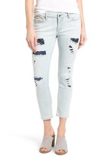 Lucky Brand Lolita Ripped & Repaired Capri Jeans (Bridge City)
