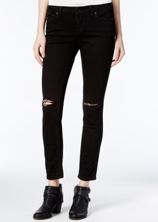 Lucky Brand Lolita Ripped Black Wash Skinny Jeans