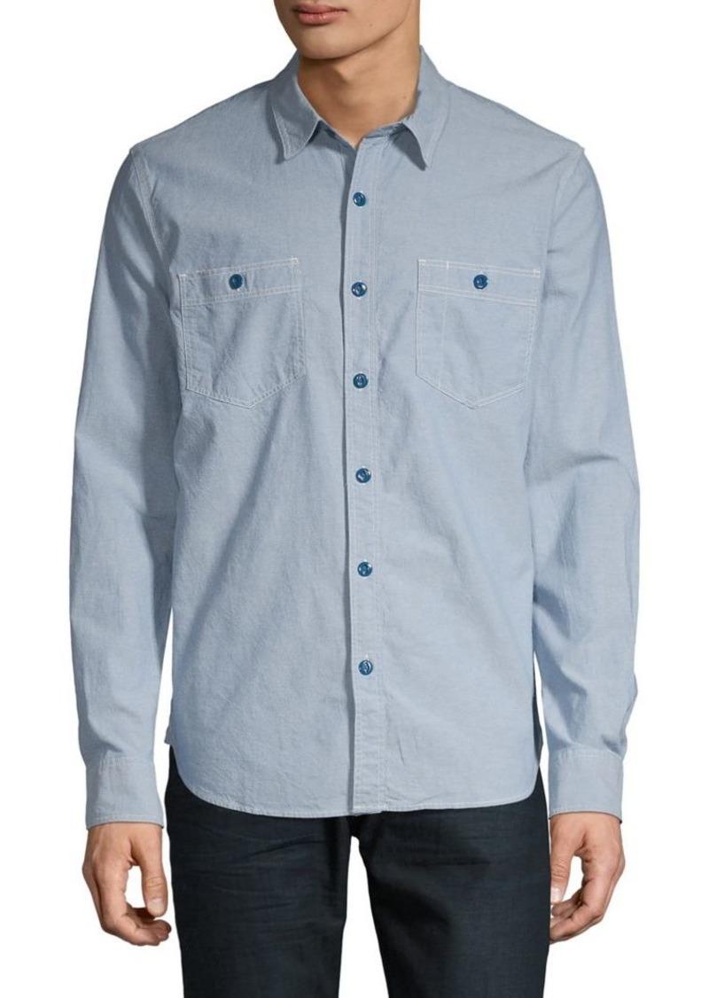 Lucky Brand Long-Sleeve Chambray Shirt