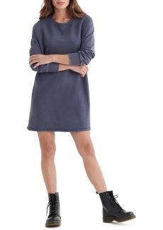 Lucky Brand Long Sleeve Cotton Fleece Dress
