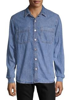 Lucky Brand Long-Sleeve Denim Shirt
