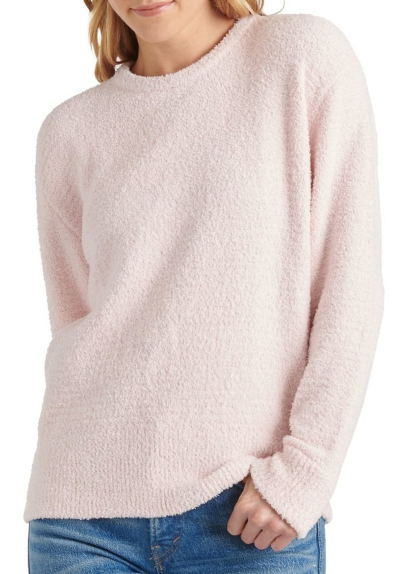 Lucky Brand Long-Sleeve Teddy Sweater