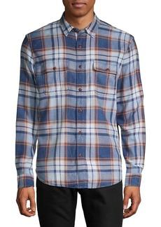 Lucky Brand Long Sleeve Workwear Plaid Shirt