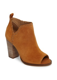 Lucky Brand Lotisha Studded Open Toe Bootie (Women)