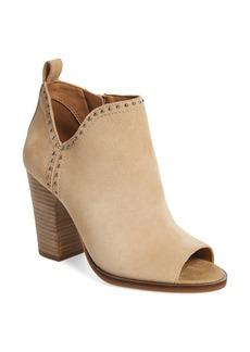 Lucky Brand Lotisha Studded Open Toe Bootie (Women)
