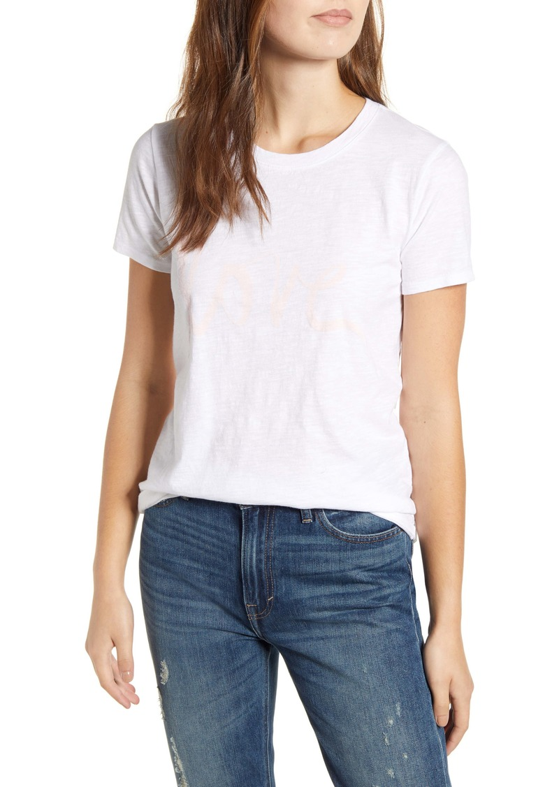 Lucky Brand Love Graphic Tee