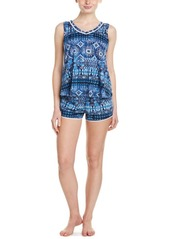 Lucky Brand Lucky Brand 2pc Short Pajama Set