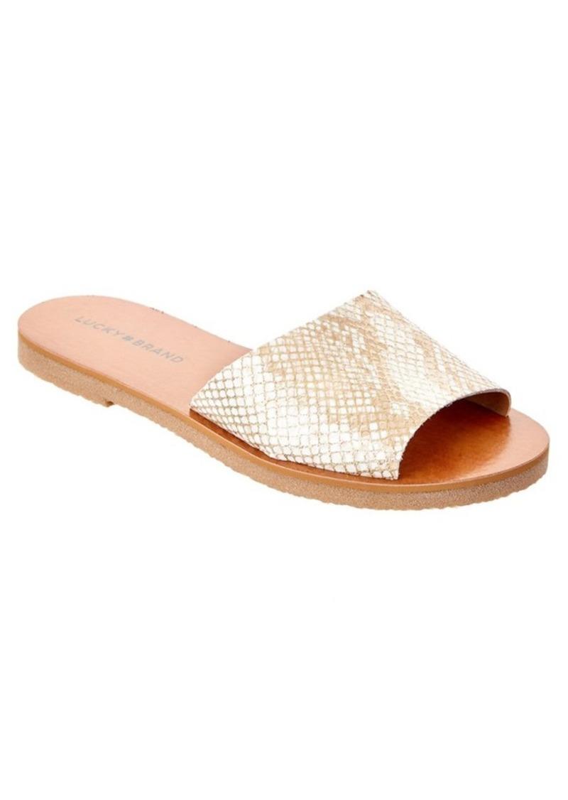 Lucky Brand Lucky Brand Dorian Leather Sandal