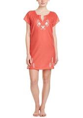 Lucky Brand Lucky Brand Embroidered Sleep Shirt