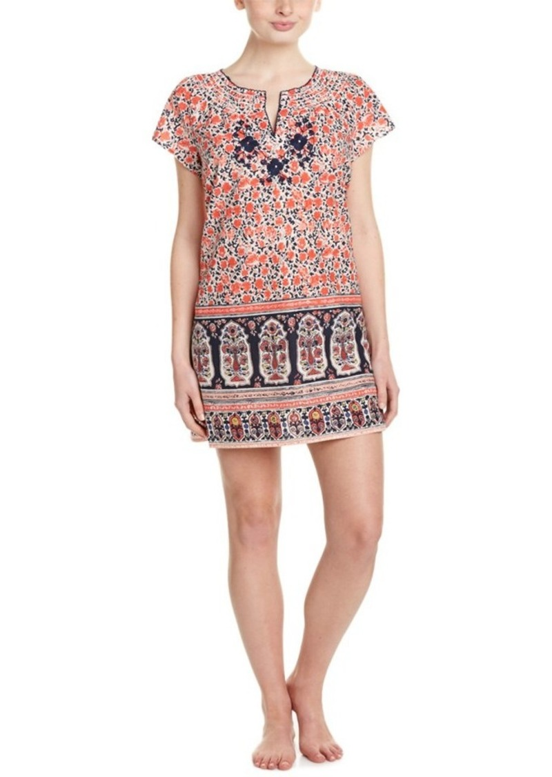 Lucky Brand Lucky Brand Embroidered Sleep Shirt