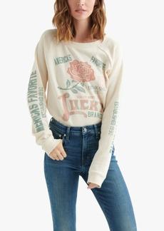 Lucky Brand Lucky Brand Graphic-Print Sweatshirt