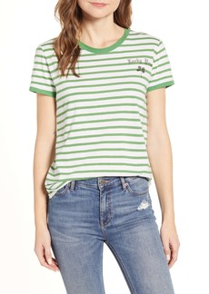 Lucky Brand Lucky You Stripe T-Shirt