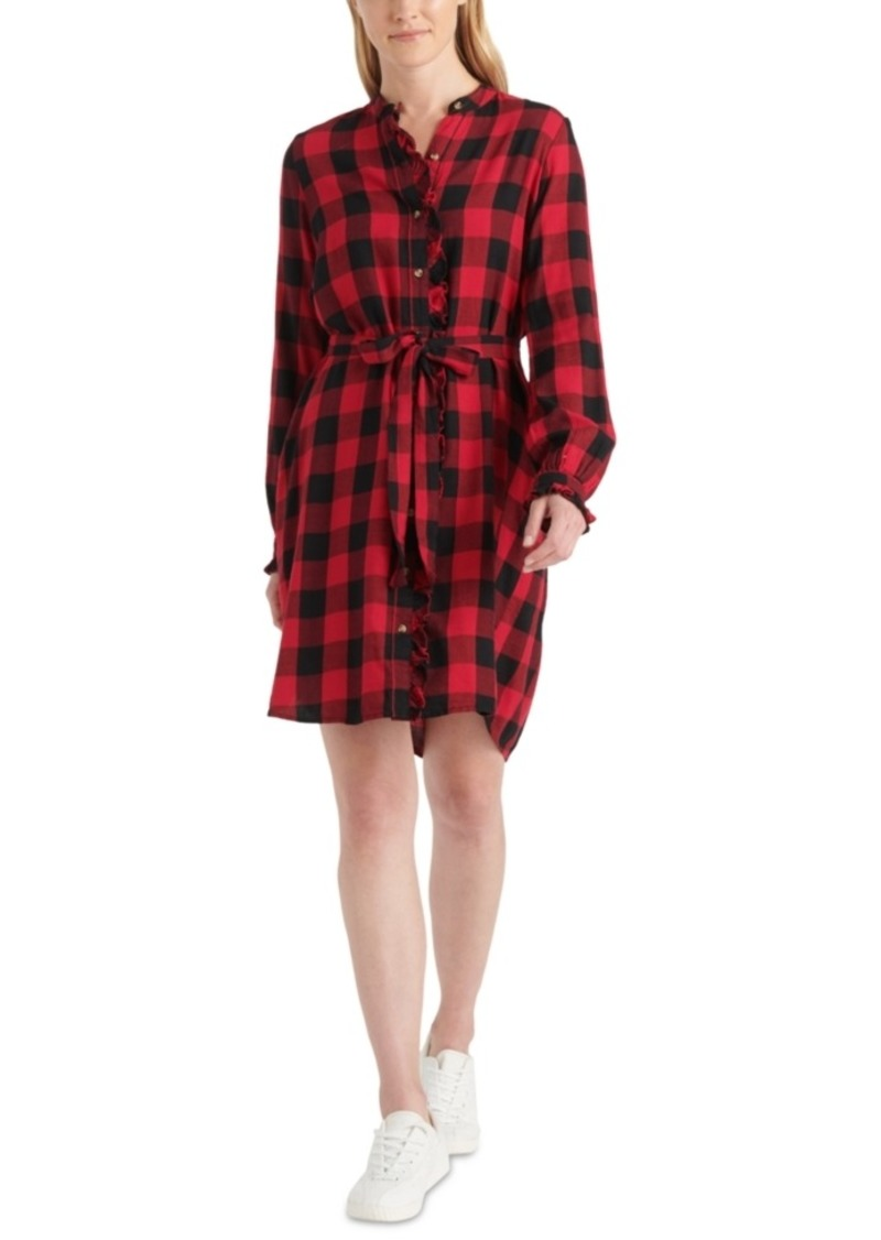 Lucky Brand Mackenzie Ruffled Shirtdress