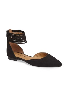Lucky Brand Madoz Ankle Strap Flat (Women)