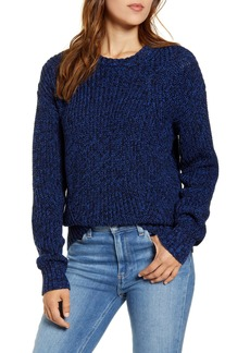 Lucky Brand Marled Cotton Sweater