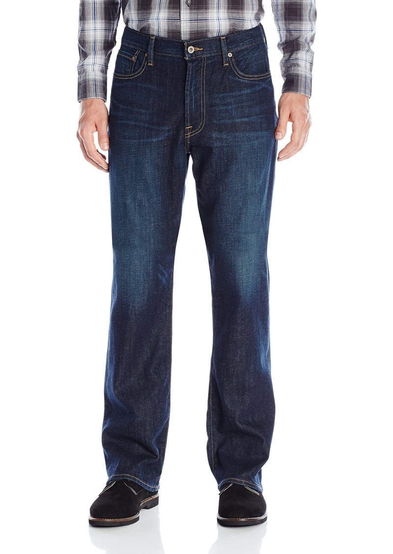 Lucky Brand Men's 181 Relaxed Straight Jean  40W X 34L