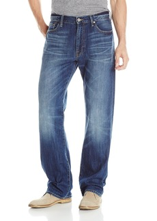 Lucky Brand Men's 181 Relaxed Straight Jean  42x30