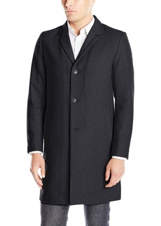 Lucky Brand Men's Abercrombie Wool Single Breasted Top Coat  M