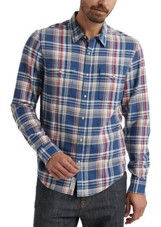 Lucky Brand Men's Alameda Western Plaid Shirt
