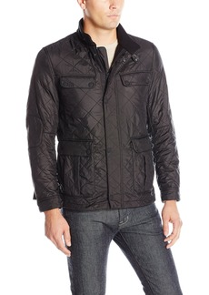 Lucky Brand Men's Avery Quilted Field Coat  L