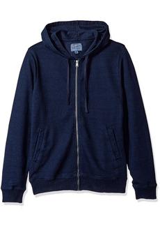 Lucky Brand Men's Aztec Graphic Full Zip Hooded Sweatshirt  M