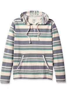 Lucky Brand Men's Baja Pullover Hooded Sweatshirt  S
