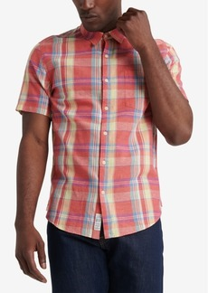 Lucky Brand Men's Ballona Plaid Shirt