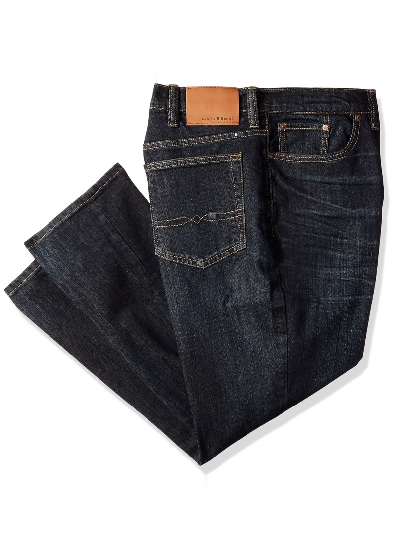 135c06c7 Lucky Brand Lucky Brand Men's Big and Tall 410 Athletic Jean 46X32 ...
