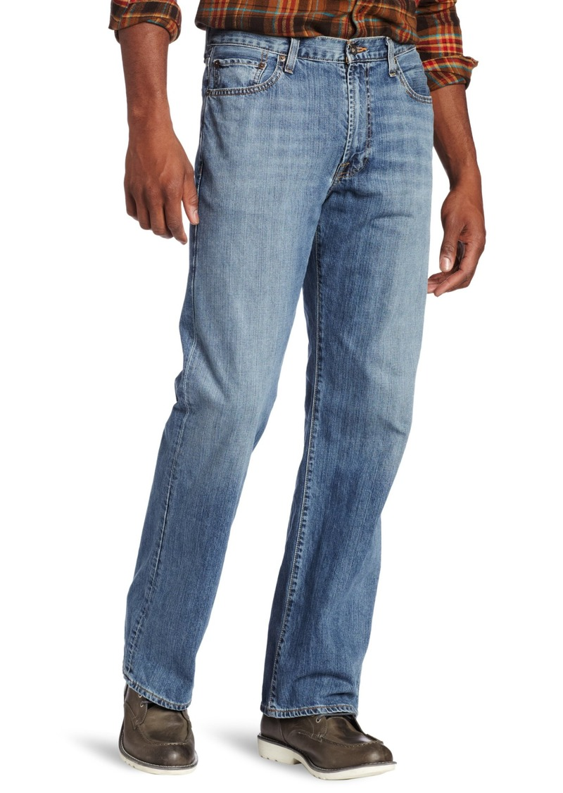 Lucky Brand Men's Big-Tall 181 Relaxed Straight Leg Jean in  50x34