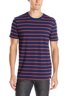 Lucky Brand Men's Bold Stripe Indigo T-Shirt