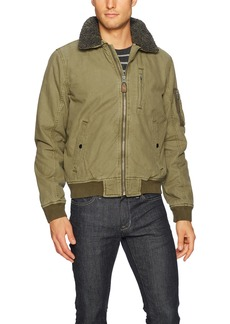 Lucky Brand Men's Bomber Jacket  S
