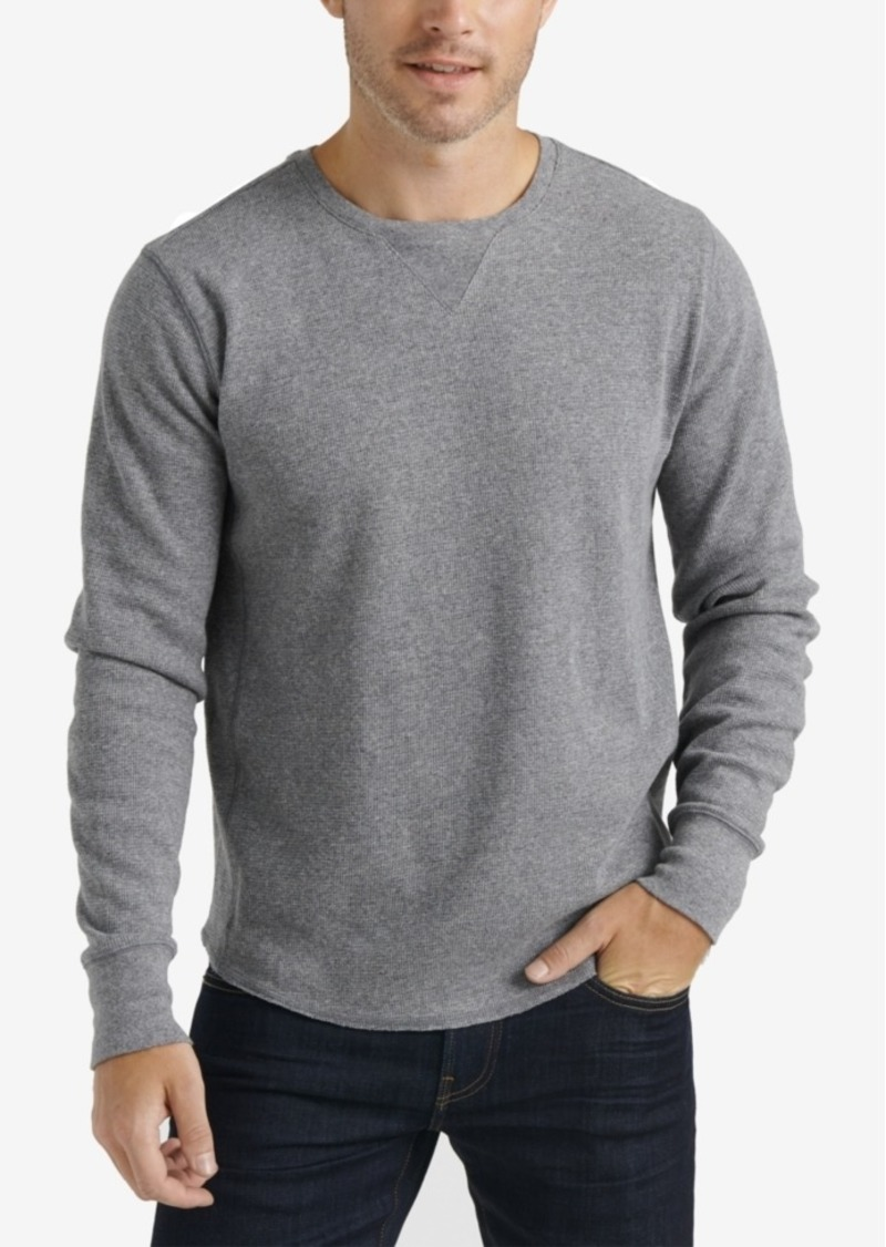 Lucky Brand Men's Brushed Thermal Crew