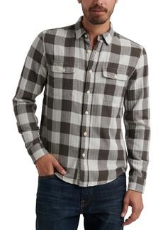 Lucky Brand Men's Buffalo Plaid Flannel Shirt
