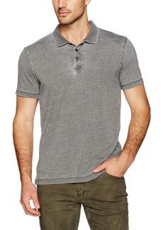 Lucky Brand Men's Burnout Knit Polo