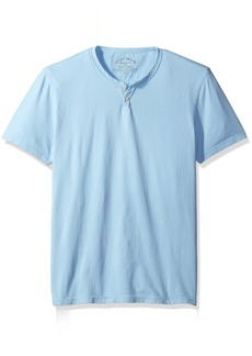 Lucky Brand Men's Button Notch Neck Tee