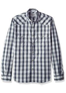 Lucky Brand Men's Button up Western Shirt  M