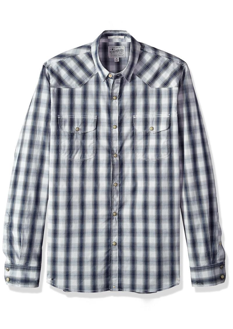 4da1f6b856 Lucky Brand Lucky Brand Men s Button up Western Shirt M