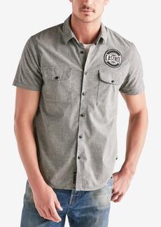 Lucky Brand Men's Castrol Shop Shirt